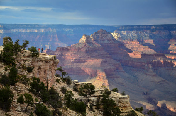 The canyons at Shoshone Point.