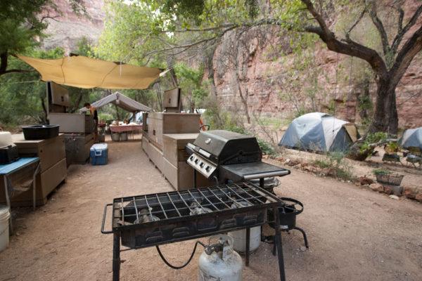 AOA's Old-style Havasupai Basecamp