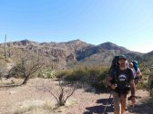 Mike Kmit in the Superstition Mountains Wilderness