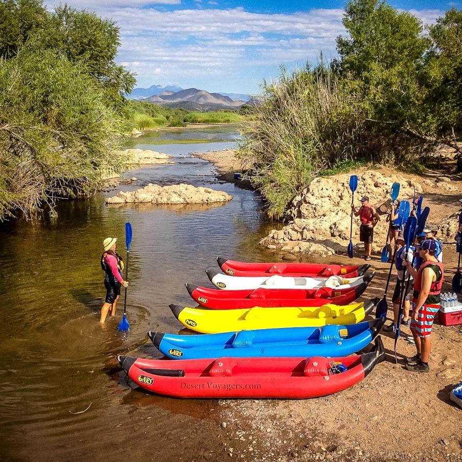 Group prepares for Arizona rafting day tour
