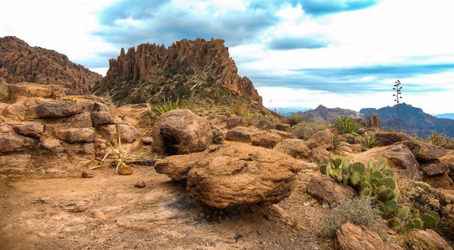 Rocky landscape at Joshua Tree National Park