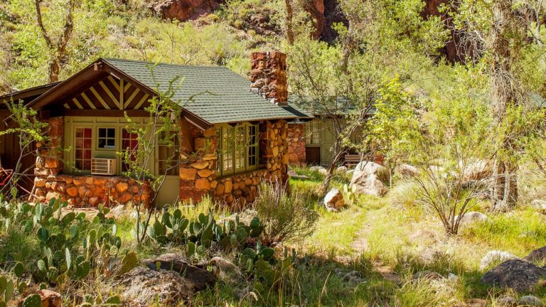 Phantom Ranch cabin in the Grand Canyon