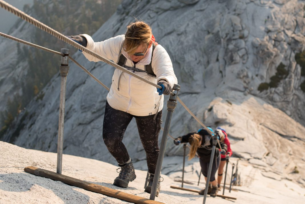 Hiking the Half Dome cables