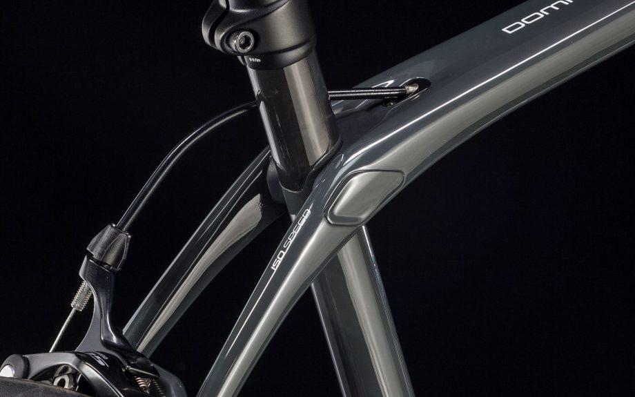 Close up of Trek Domane SL5 bike frame