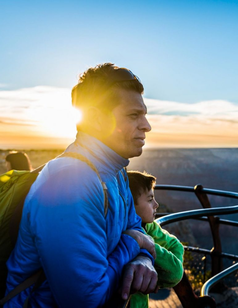Hiking Grand Canyon - great for families