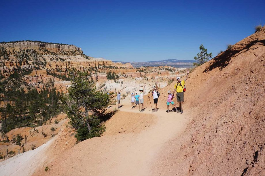 hike bryce canyon national park on a guided trip with AOA