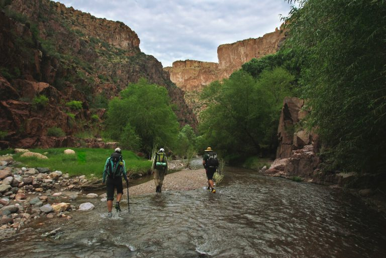 aravaipa canyon wilderness creek crossing
