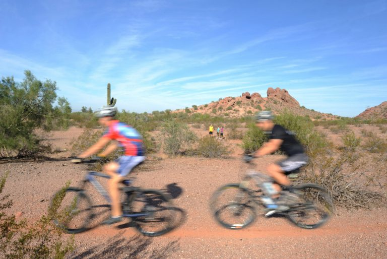 mountain biking in papago park tempe arizona