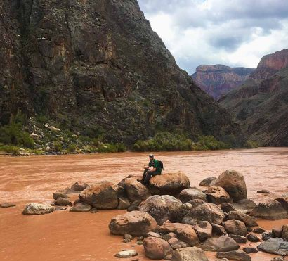 backpacking the boucher trail grand canyon