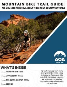 get your guide for 4 epic mountain bike trails of the southwest
