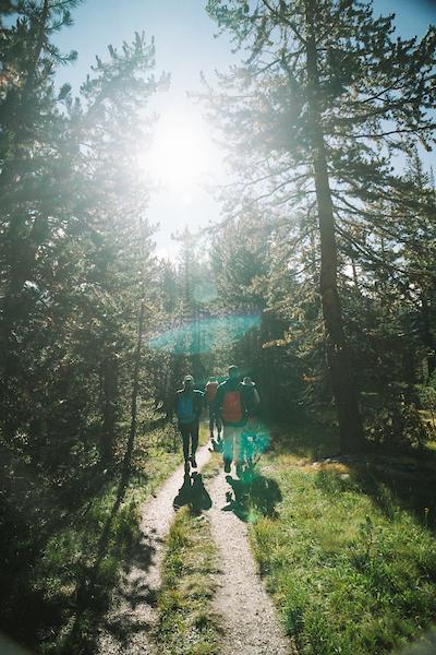Hiking trails Yosemite National Park