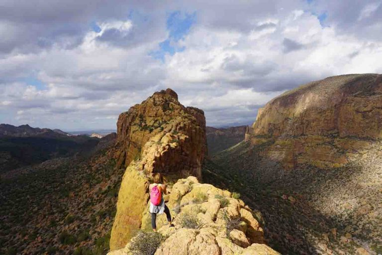 Superstition Mountain Hiking