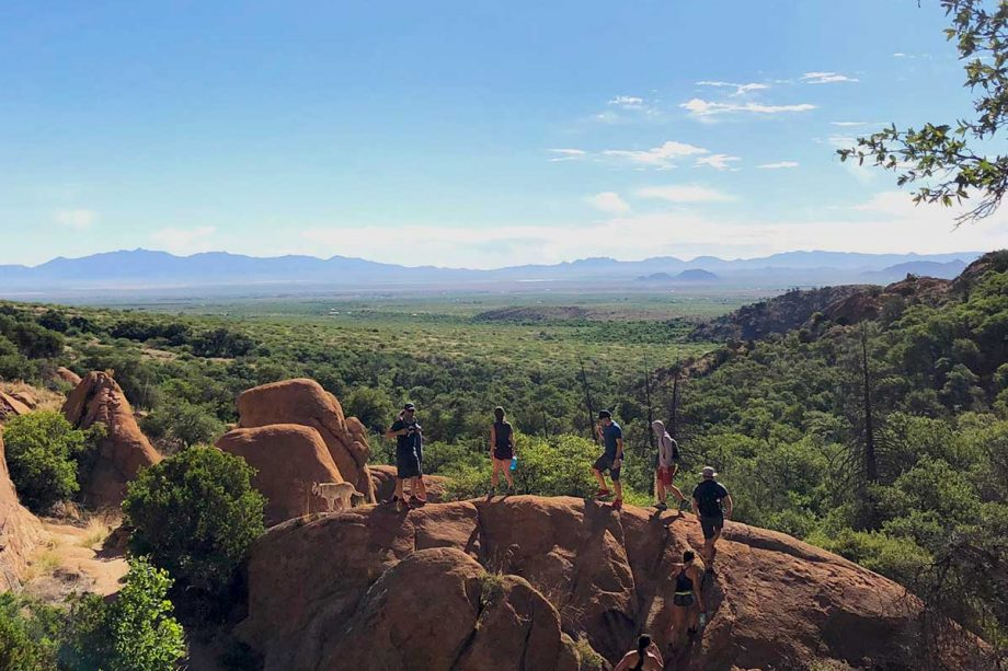 Hiking the Cochise Stronghold Trail in the Dragoon Mountains