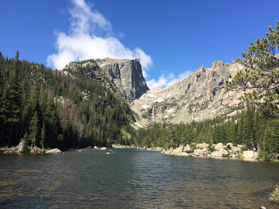 Dream Lake on Bear Lake Hike