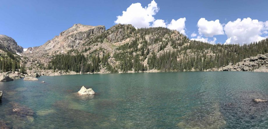 Lake Haiyaha on Bear Lake Hike