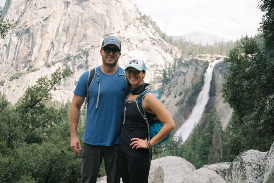 nevada falls day hike in yosemite with REI