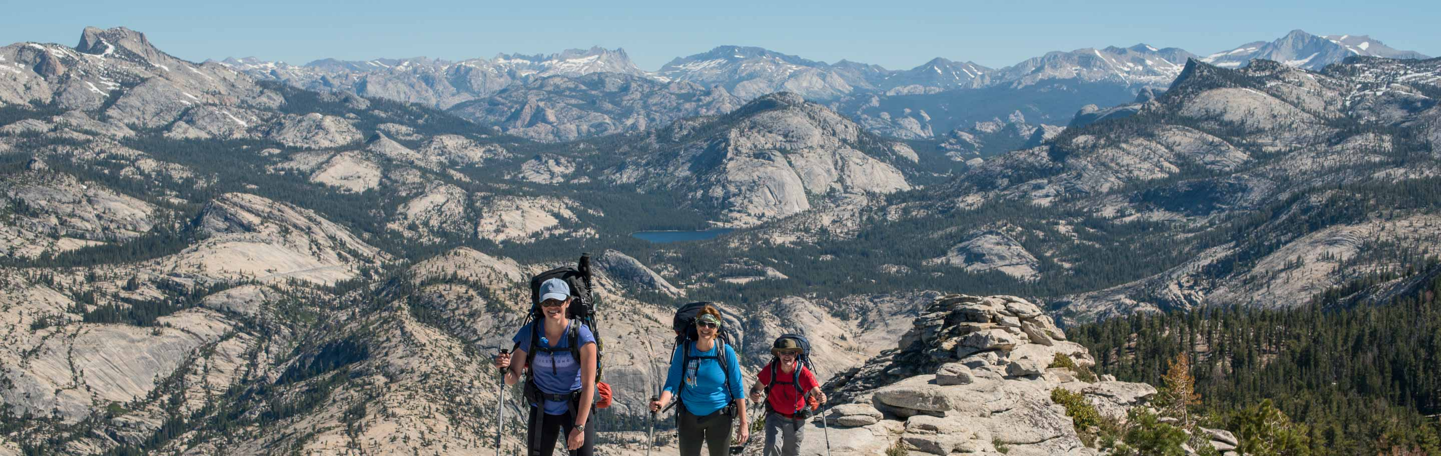 Backpacking through the Yosemite high country, photo by Tyler Gates