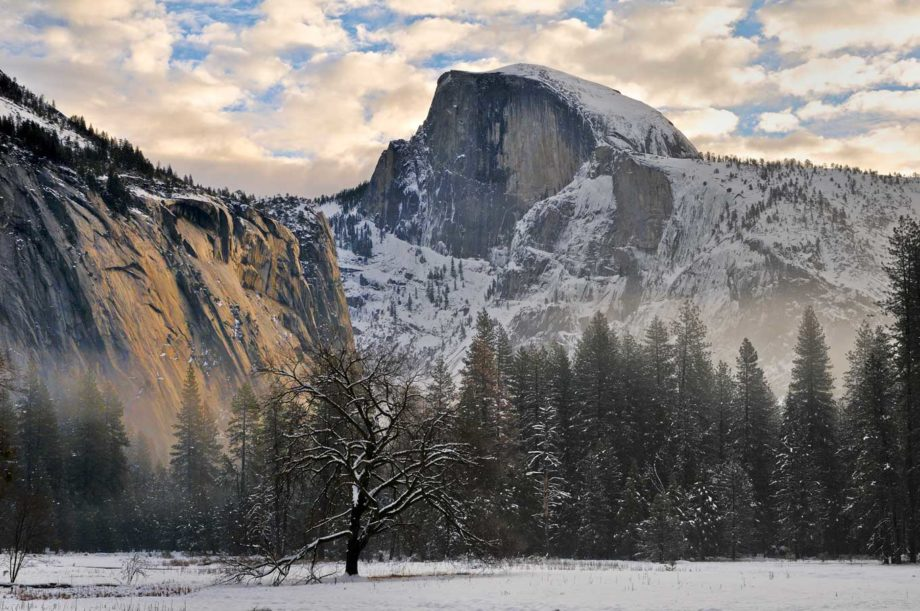 Yosemite In Snow