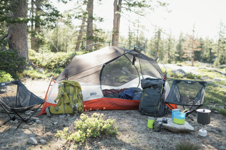 Camp Gear Rentals From The REI Adventure Center