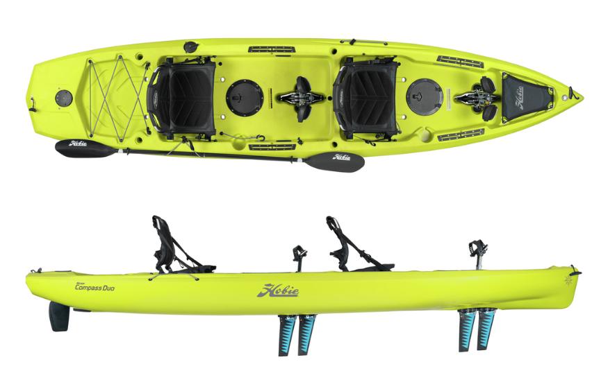 Tandem Pedal Kayak Hobie Compass