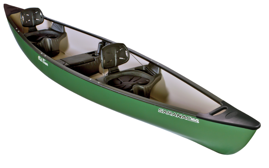 3 Seater Old Town Saranac Canoe Rental