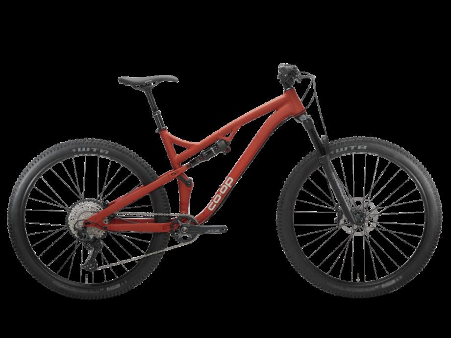 REI co-op cycles drt 3.3 full suspension mountain bike